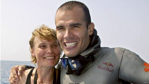 Natalia Molchanova and Alexey Molchanov