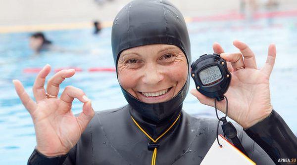 Natalia Molchanova Record
