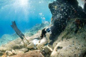 Uživanje v podvodnem svetu