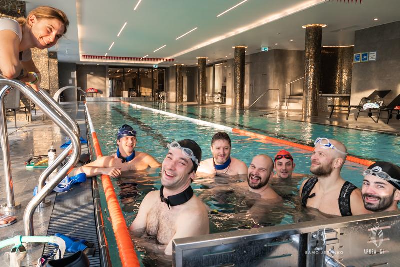 Treningi na bazenu 2020