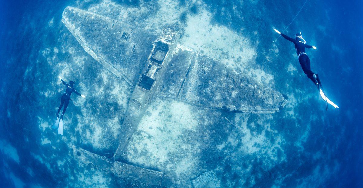 Potapljanje na JU-87